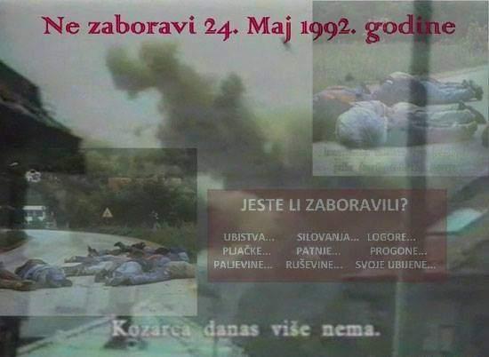 kozarac1.jpg - Prijedorska polja smrti/Navršilo se 27 godina od napada na Kozarac