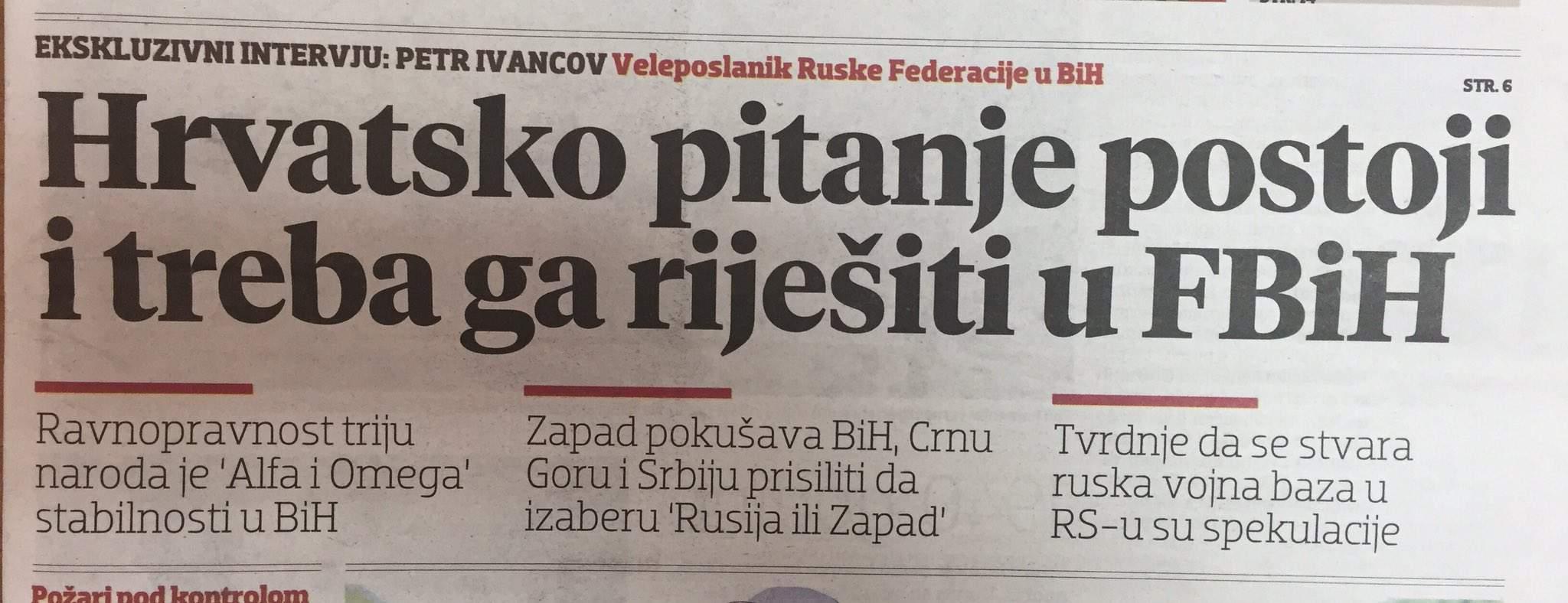 """DH_Hfo9W0AAFkoN.jpg large.jpg - VELIKA ANALIZA Novi-stari saveznici: Hrvatska """"rješenje za BiH"""" traži u dogovorima sa Srbijom!"""