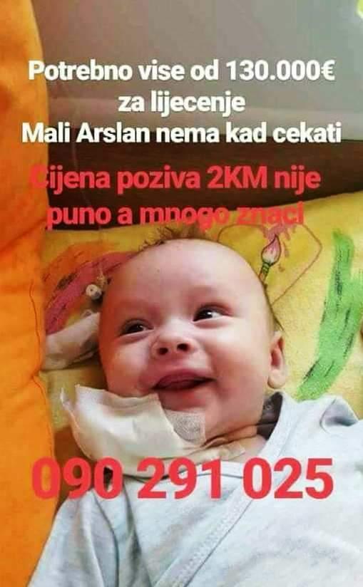 beba arslan.jpg - Beba Arslan Kulačić hitno treba vašu pomoć!