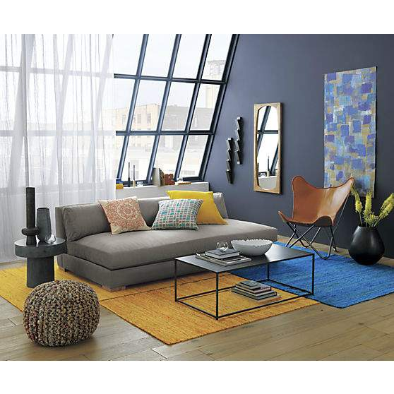 living-room-on-a-badget-recycled-blue-silk-rug.jpg - 10 super ideja za uređenje dnevnog boravka