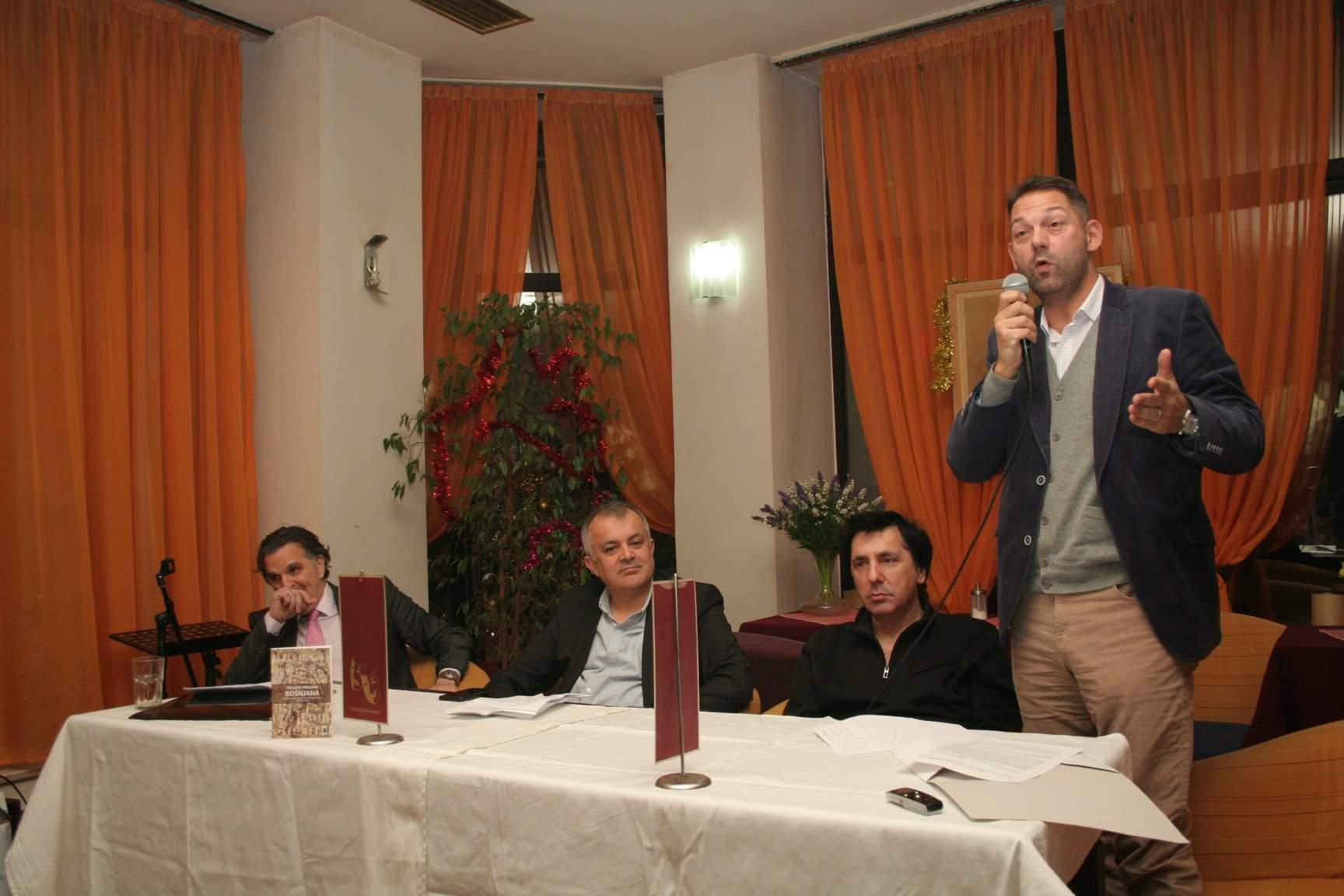 Promocija Mostar7.jpg - Mahmutćehajić, Lavić, Zubčević, Dizdarević: Kako razumijevati bosansku budućnost?